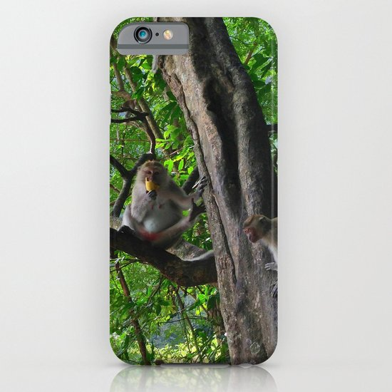 Mountain Monkeys iPhone & iPod Case
