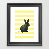 Bunny and Pals Collection Framed Art Print