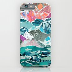Abstract Collage Landscape Slim Case iPhone 6s