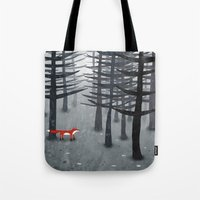 The Fox and the Forest Tote Bag