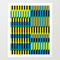 Cinetism Art Print