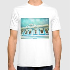 House Of Blues Mens Fitted Tee White SMALL
