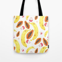 Tropical Juice (white) Tote Bag