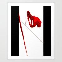 Daredevil Red Art Print