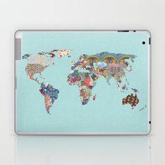 Louis Armstrong Told Us So (teal) Laptop & iPad Skin
