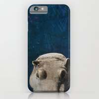 iPhone & iPod Case featuring Hippo on the Tropic of Capricorn  by Aoife Giles