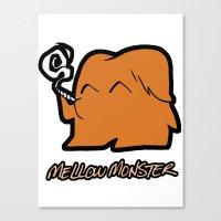 Mellow Monster Canvas Print