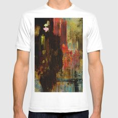 Acid rain SMALL Mens Fitted Tee White