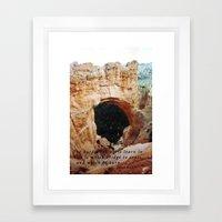 Bridges Framed Art Print