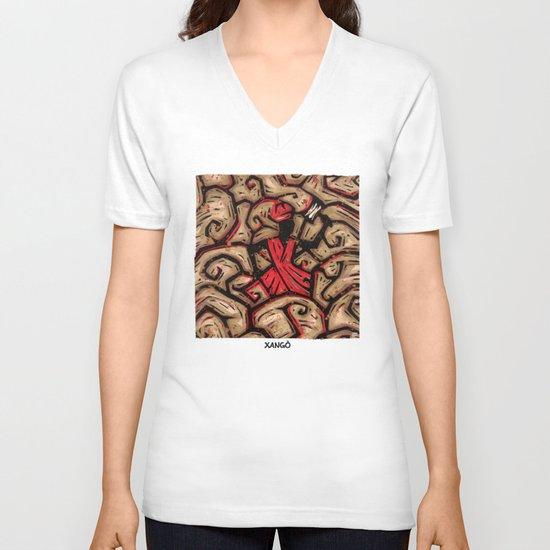 Orixás - Xangô V-neck T-shirt