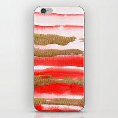 Gold & Apricot iPhone & iPod Skin