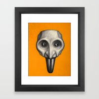Pulcinello Framed Art Print