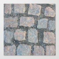 Cobble Stone City Canvas Print