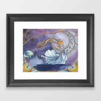 Princess Serenity Framed Art Print