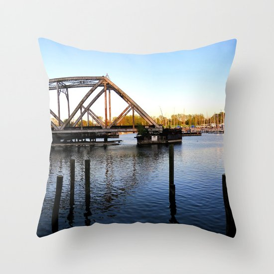 Inlet Throw Pillow