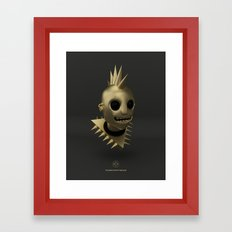 Defi Gold Punk Framed Art Print