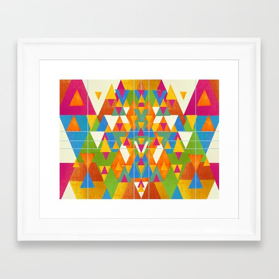 try ang you late Framed Art Print