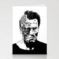 Terminator (b/w) Stationery Cards
