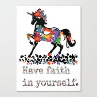 Have Faith In Yourself Canvas Print