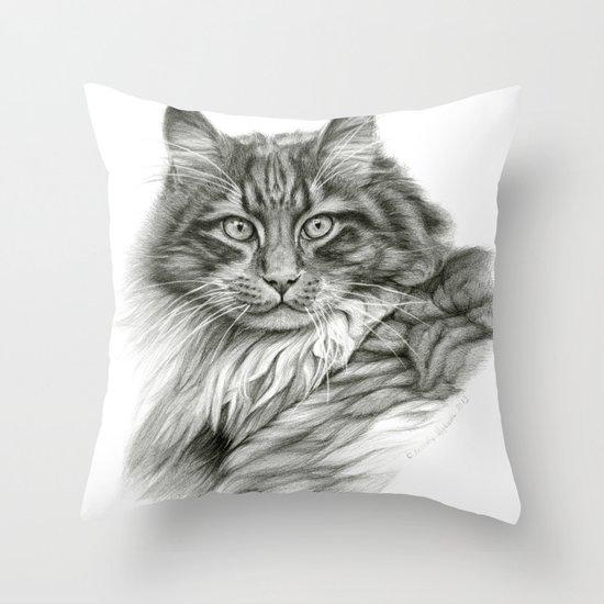 Ginger Cat G2012-052 Throw Pillow