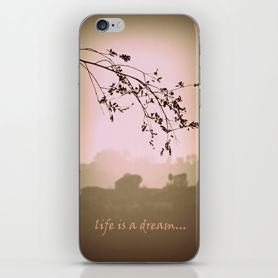 life is a dream iPhone & iPod Skin