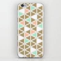Colored Triangles iPhone & iPod Skin