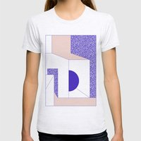 Violet Womens Fitted Tee Ash Grey SMALL