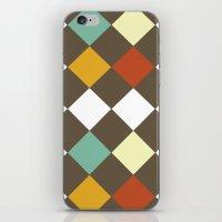 Checkers Fall iPhone & iPod Skin