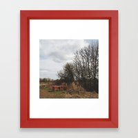 FANCY A PICNIC Framed Art Print