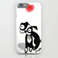 pouty face loves his dog iPhone 6 Slim Case