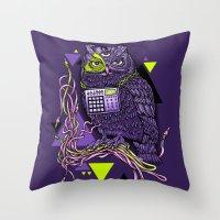 DiscOwl 6c Throw Pillow