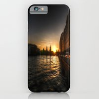 iPhone & iPod Case featuring Oberbaumbrücke Sunset by Cozmic Photos