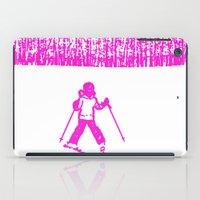 Little Skier II iPad Case
