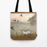 Little White Rabbit And … Tote Bag
