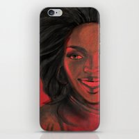 Lauryn Hill iPhone & iPod Skin