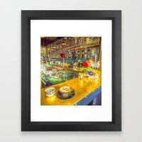 COFFEE BREAK WATERLOO ST… Framed Art Print