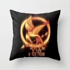 Mockingjay Throw Pillow