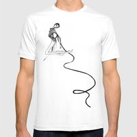 Rhythmic  Mens Fitted Tee White SMALL