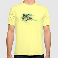 Evangelion Unit 01 - Shi… Mens Fitted Tee Lemon SMALL