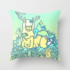 earthy delights Throw Pillow