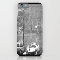 Rainy NYC Sidewalk iPhone 6 Slim Case