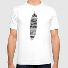 A long time ago I used to be an Indian Mens Fitted Tee SMALL White