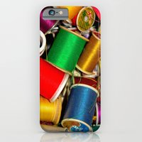 iPhone & iPod Case featuring Sewing Thread by Eye Shutter to Think