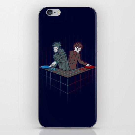 Techno-Tron-ic iPhone & iPod Skin