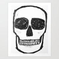 No. 89 - Black And White… Art Print