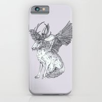 iPhone & iPod Case featuring The Wolpertinger by Kirsten McNee
