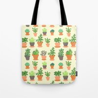Windowsill Garden Tote Bag