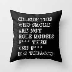 Smoking In Memory Of My … Throw Pillow