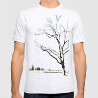 The Etching Mens Fitted Tee Ash Grey SMALL