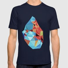 Inner Peace Mens Fitted Tee Navy SMALL